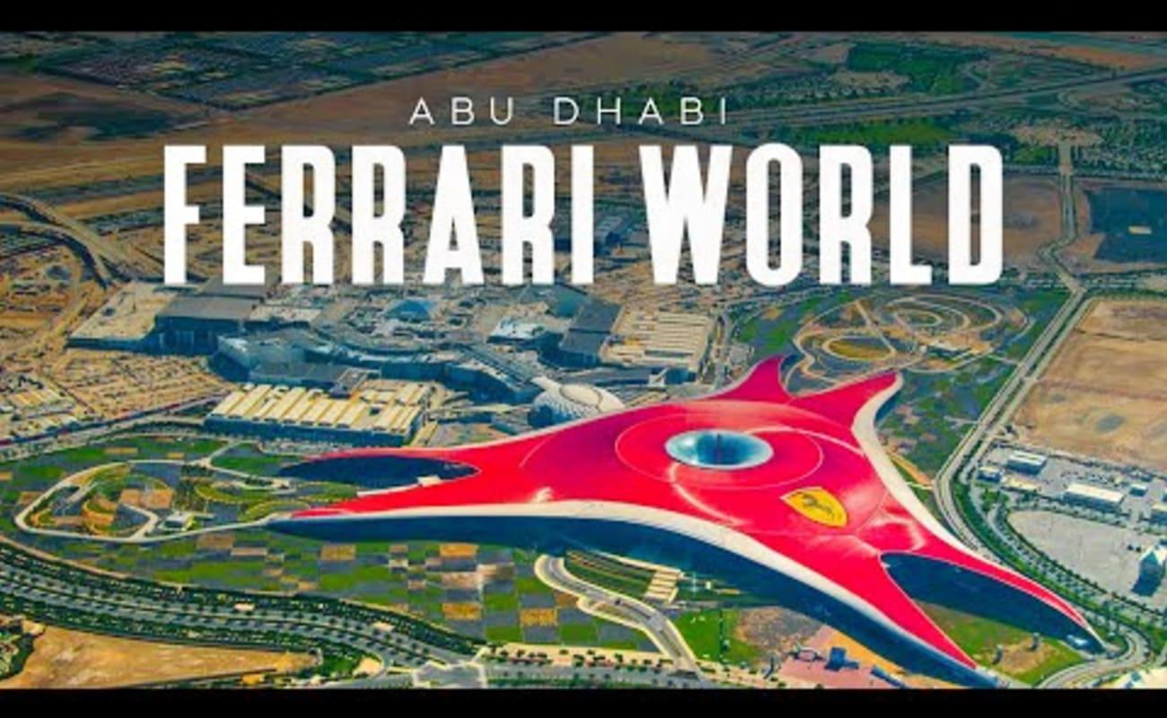 Ferrari World Ticket Abu Dhabi Save 11 Book Online