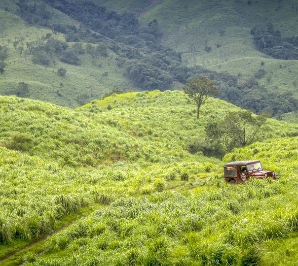 Offroad Jeep Ride: Madugundi Waterfalls and Ballalarayana Durga
