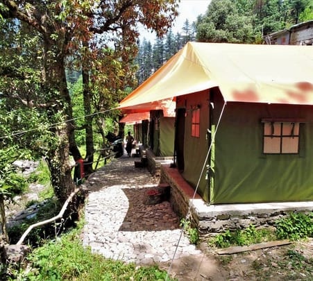 Adventure Camping Experience in Jibhi, Himachal