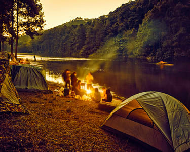 Riverside Camping in Sakleshpur, Chikmagalur