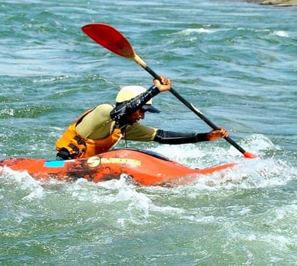 Kayaking at Kundalika River, Kolad
