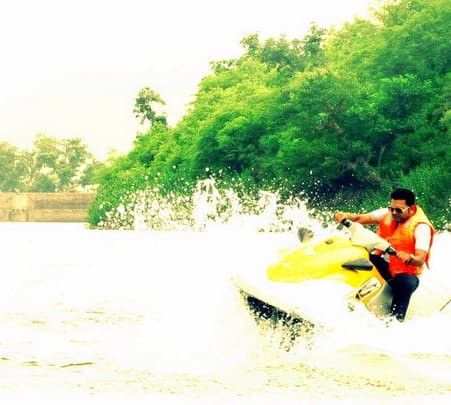 Jet Skiing at Alwar