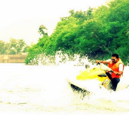 Jet Skiing at Alwar