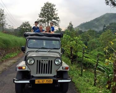 Jeep Safari from Munnar to Vattavada