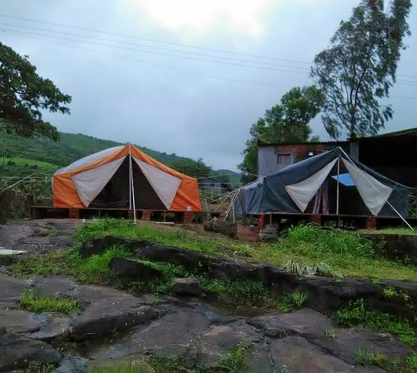 Camping by Pavana River