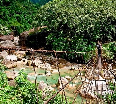 Short Trekking trail in Meghalaya