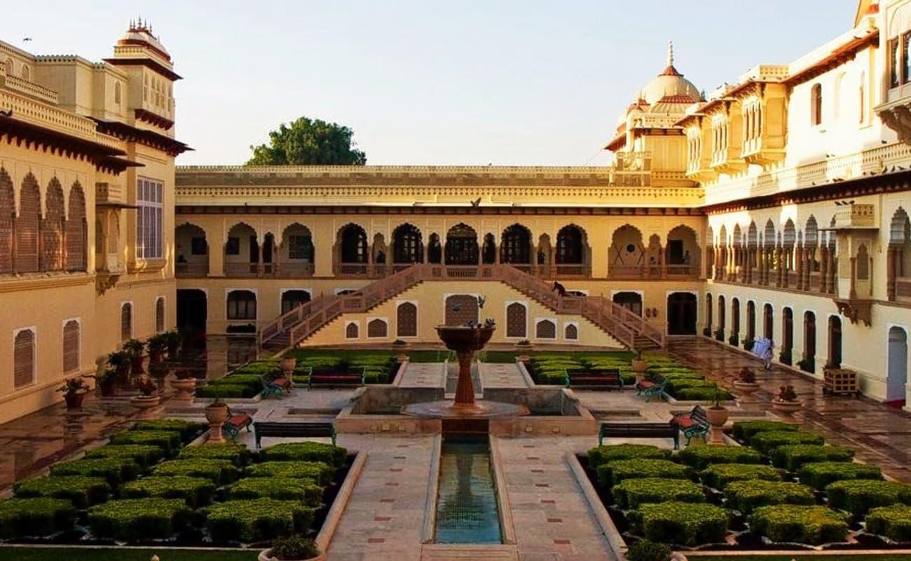 Rajasthan Tours Rambagh Palace Jaipur