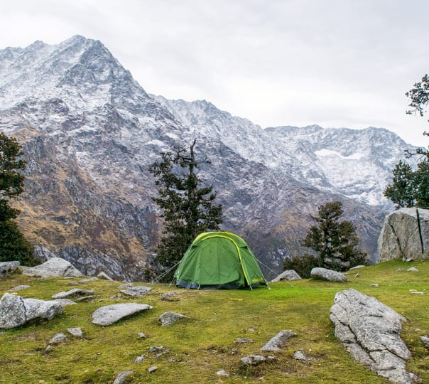 Trek to Triund and Camping