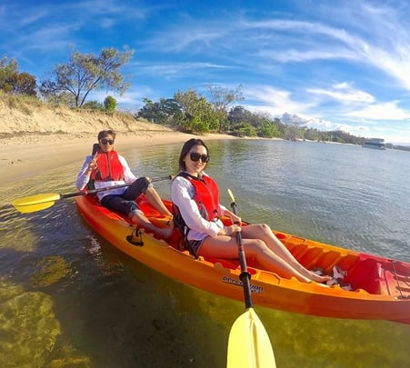 Hinze Dam Kayaking Tour in Goldcoast