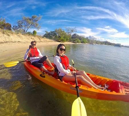 Hinze Dam Kayaking Tour in Goldcoast