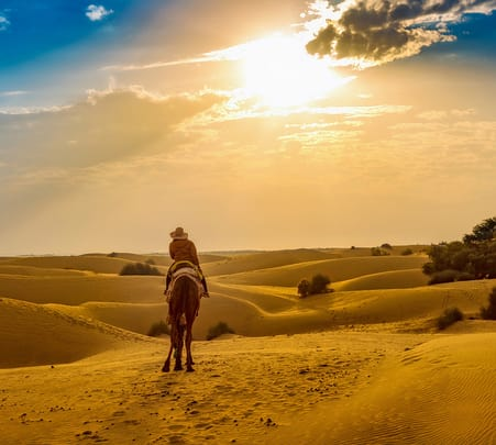 Winter and New Year Special: Delhi to Jaisalmer with Camel Safari