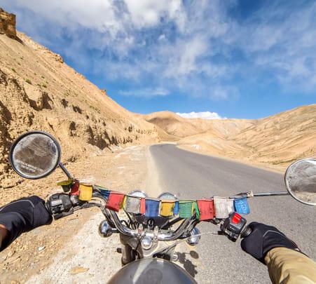 Leh Bike Tour Adventure with Camping