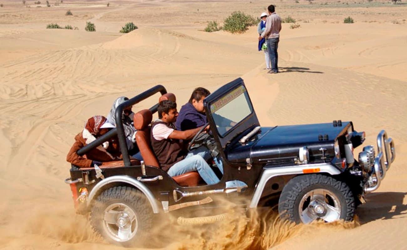 Jeep Safari At Jaisalmer | Thrillophilia
