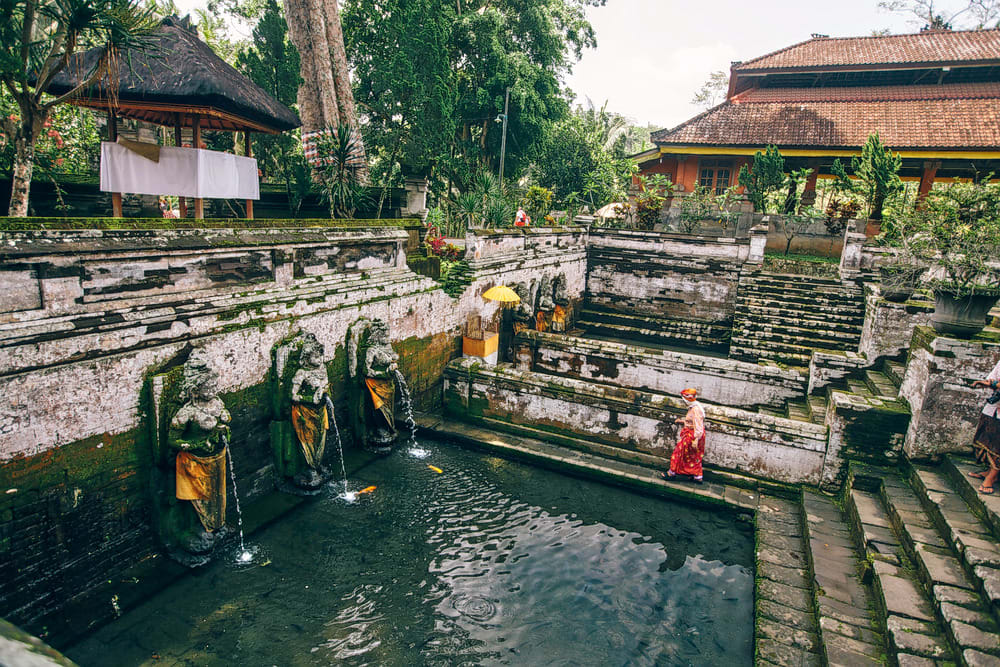 Drink from the Waters at Goa Gajah