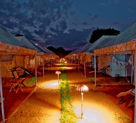 Luxury Camping Experience in Pushkar