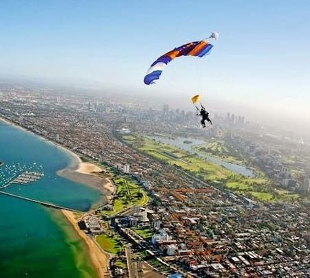Skydiving in Melbourne