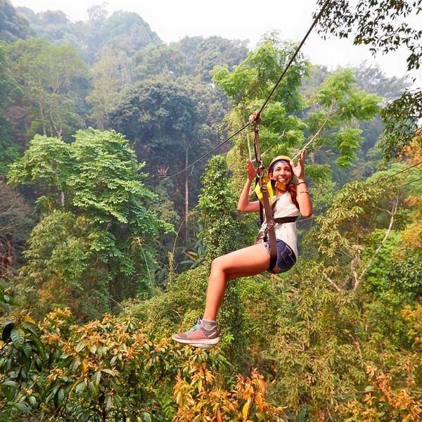 Flight of the Gibbon Zipline Canopy Tours
