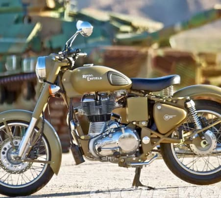 Rent a Royal Enfield in Mangalore Flat 20% off
