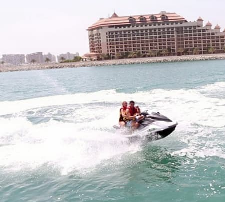 Jet Ski Ride in Dubai