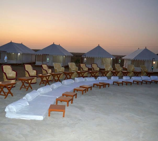 Luxury Swiss Tent Stay in Jaisalmer
