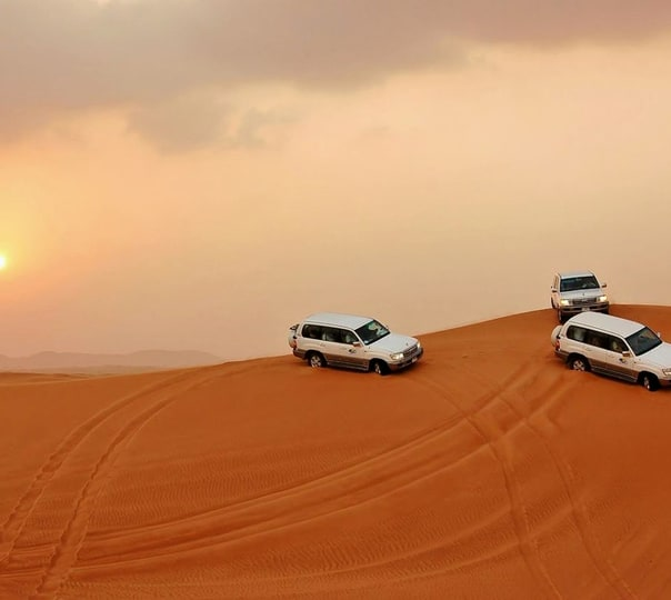 Dune Bashing at Sam Sand Dunes in Jaisalmer