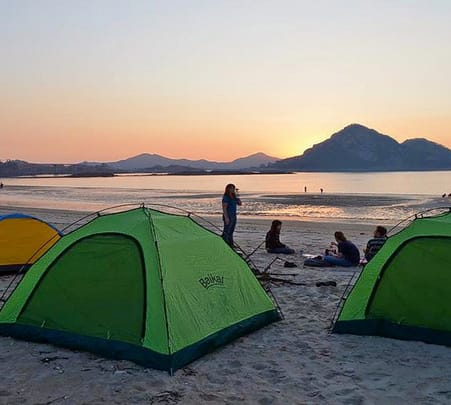 Camping at Kashid Beach in Alibaug Flat 15% off