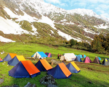 Kasol Camping Experience with Meals Flat 34% off