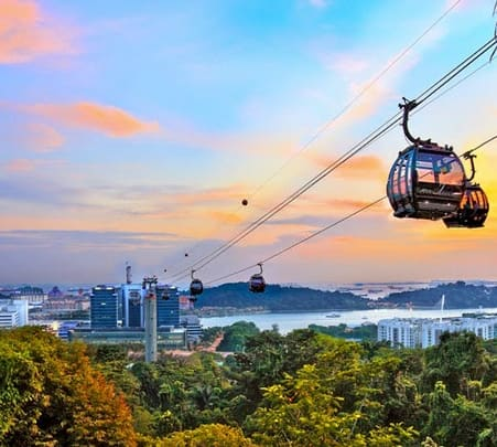 Singapore Cable Car Tickets - Flat 25% off