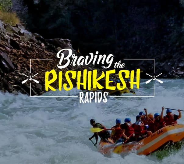 River Rafting in Rishikesh For 2 Days