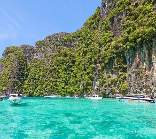 Phi Phi Island Tour: Thailand Tour Packages, Book Thailand Holiday Packages At