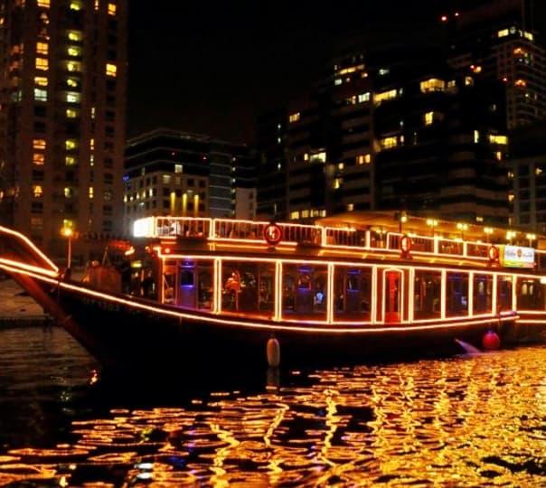 5 Star Cruise on Dubai Marina