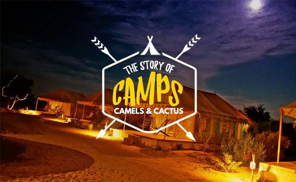 Over Night Camping In Jaisalmer With Camel Safari