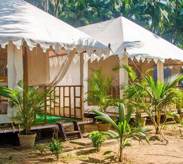 Overnight Stay at Hitide Palolem Cottages, Tents & Coco Huts
