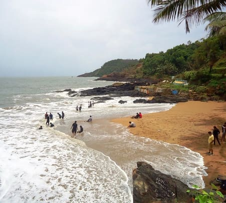 Party on the Beach in Gokarna