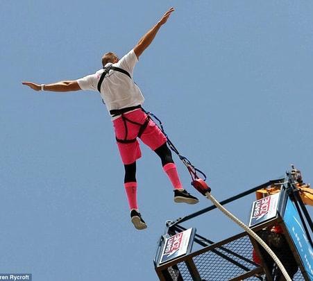Tandem Bungee Jumping in Dubai