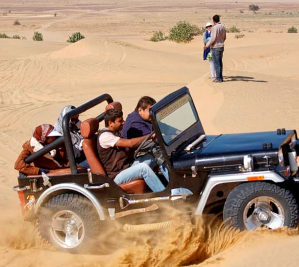 Jeep Safari at Jaisalmer