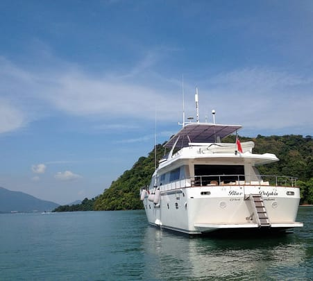 Cruise on the Blue Dolphin Boat in Langkawi
