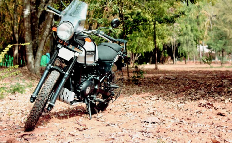 rent a royal enfield himalayan in bangalore city thrillophilia