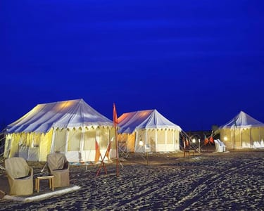 Desert Camping in Jaisalmer With Camel Safari Flat 66% Off