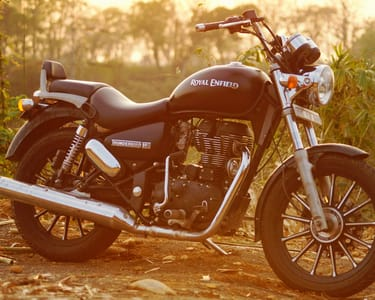 Rent a Royal Enfield in Goa
