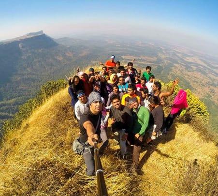 Trek to Bhairavgad Moroshi in Malshej Ghat