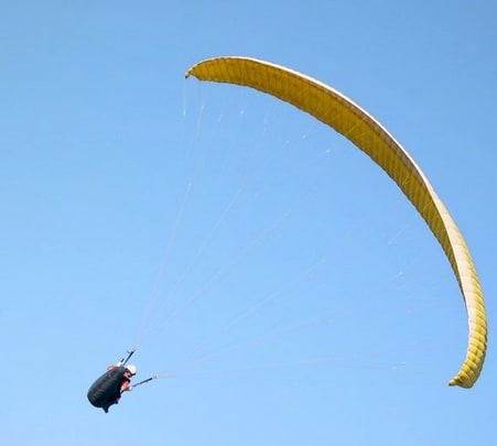 Paragliding at Spring Birds