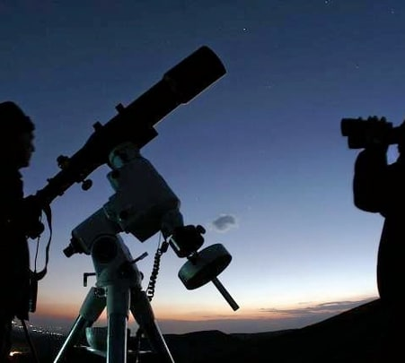 Astronomical Night at Suryashibir, Panshet