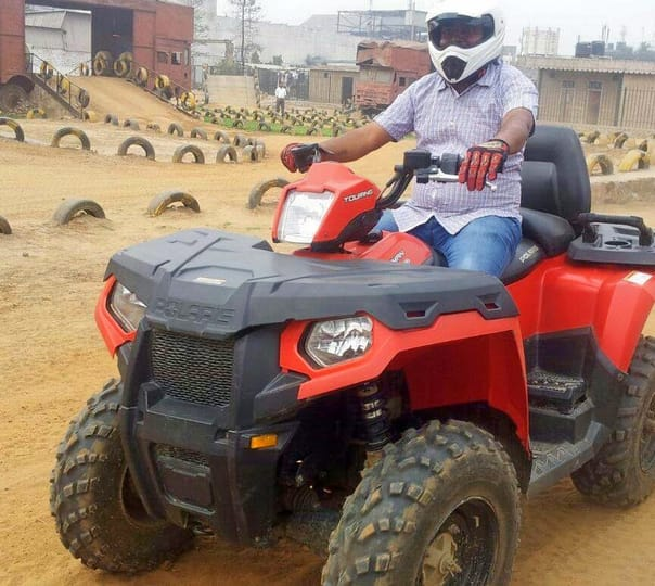 Thrilling Experience with ATV Adventure Ride