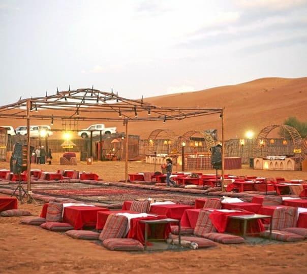 Desert Safari along with Stay in Dubai