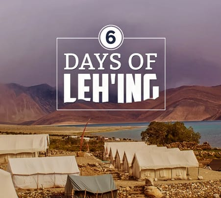 Backpacking Leh Ladakh Tour Package with Camping at Nubra Valley