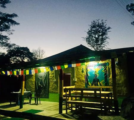 Adventure Camping with Bonfire and Barbeque, Bir Billing