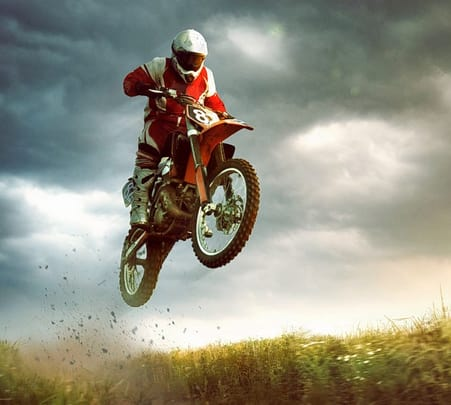 Advanced Ktm Desert Motorbike Tour Dubai
