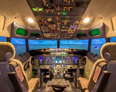 Bangkok Flight Simulator Flat 20% off