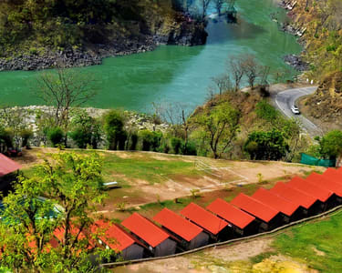 Camping & Trekking in Rishikesh with Rafting and Cliff Jumping Combo Flat 25% off